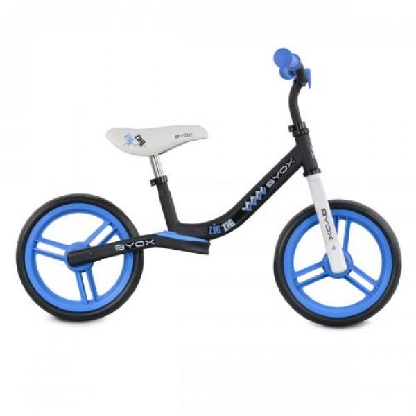 Детски балансиращ велосипед Zig-Zag син
