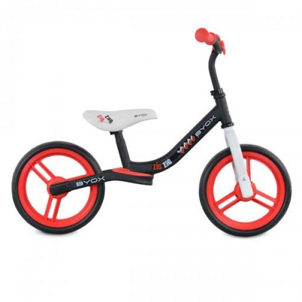 Детски балансиращ велосипед Zig-Zag червен