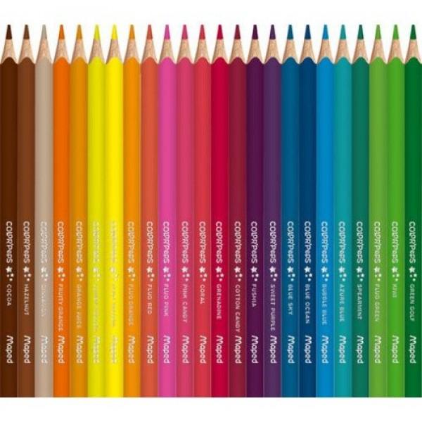 MAPED  цветни моливи състав 72 различни цвята