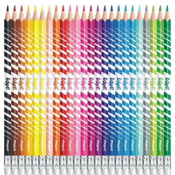 Арго Maped Color'Peps Oops Цветни моливи изтриваеми 24