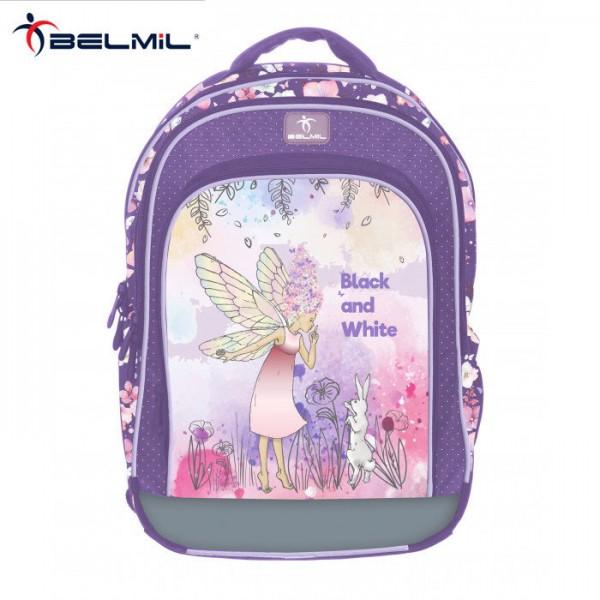 Belmil Ученическа ергономична раница SPEEDY Fairy