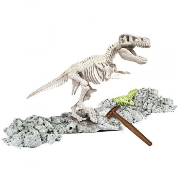 CLEMENTONI Светещ скелет на T-REX 61243 Science & Play