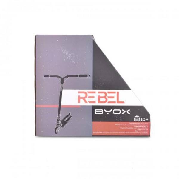Тротинетка Byox Stunt Rebel червен