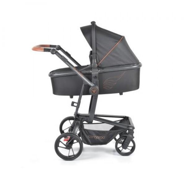 Комбинирана детска количка Ellada 3в1 черен