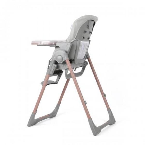 Детски стол за хранене Aspen 2 в 1 сив
