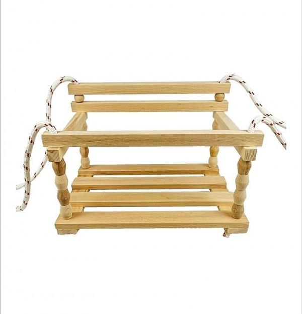 Детска дървена люлка