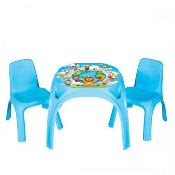 Маса King с 2 стола - 03422 син