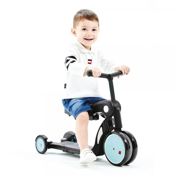 Детска играчка скутер 4в1 ALL RIDE син