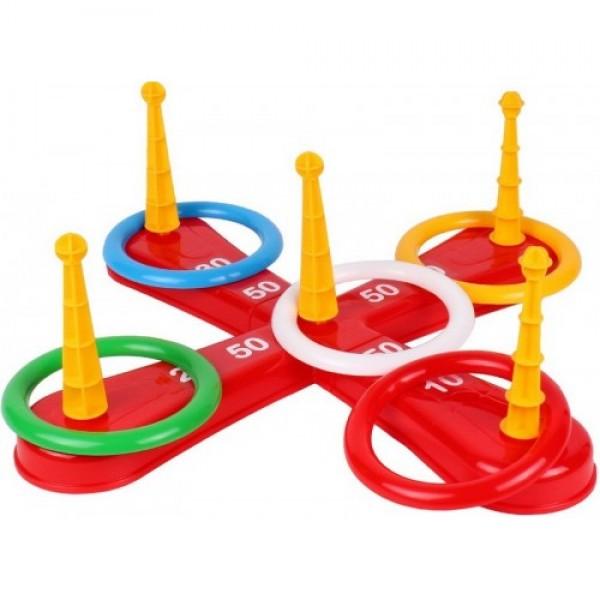 Игра за деца с рингове за точност