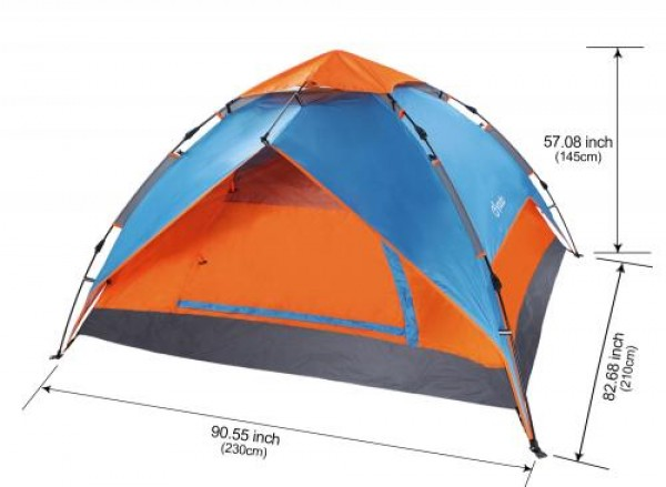 """Триместна палатка GO""""N""""CAMP"""