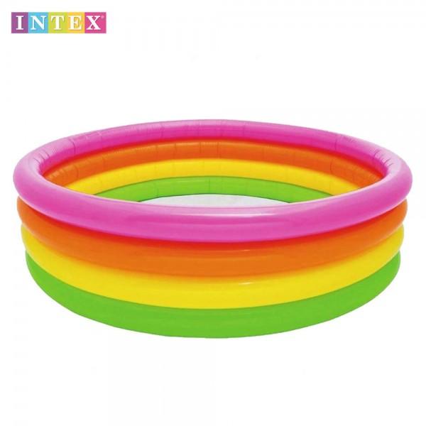 Intex - Надуваем басейн детски 168х46см 56441