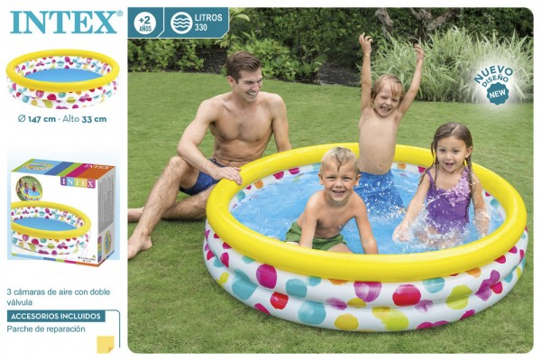 Intex Надуваем басейн - 147см
