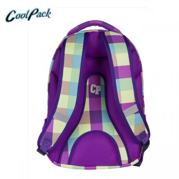 Ученическа раница College Purple Pastel