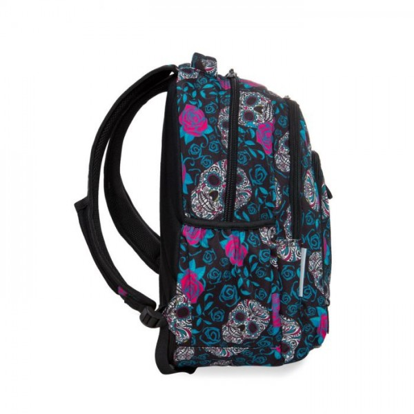 Раница COOLPACK - STRIKE USB - SCULLS & ROSES